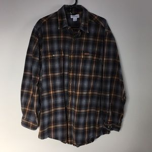 Other - Men's Carhartt heavyweight flannel shirt